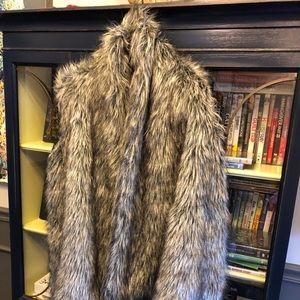 Jackets & Blazers - Karis faux wolf coat